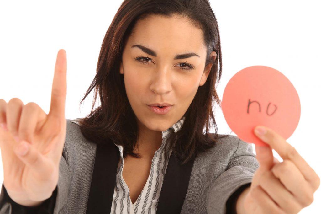 decir no 1 1024x682 - ¿Qué es y para qué sirve la asertividad?