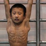 Los niños olímpicos en China