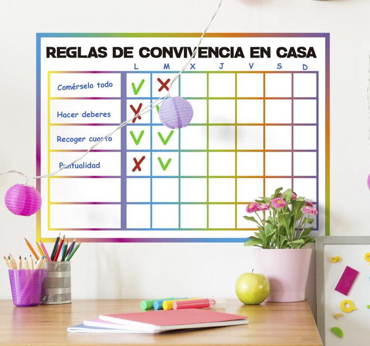 normas en casa - Educación infantil y métodos educativos